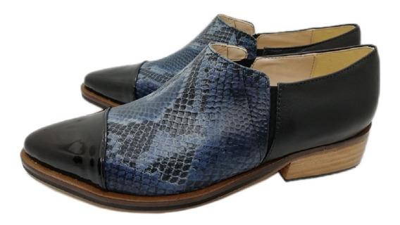 Botas Katana Blanco Plata Suela Negro Nude Zapatos Azul