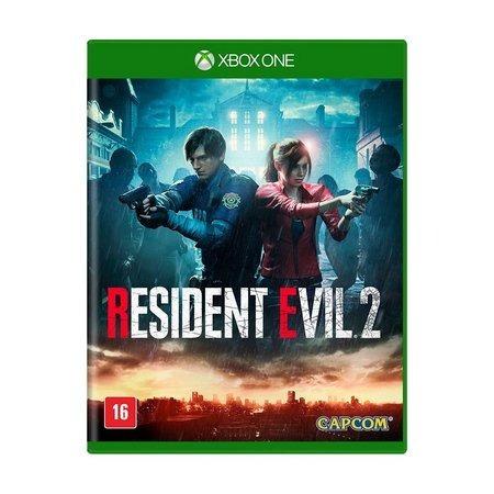 Resident Evil 2 Remake Xbox One Mídia Física- Lacrado