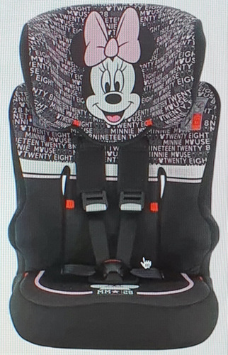 Autoasiento Silla Asiento D/auto Racer Sp Minnie Disney Niña
