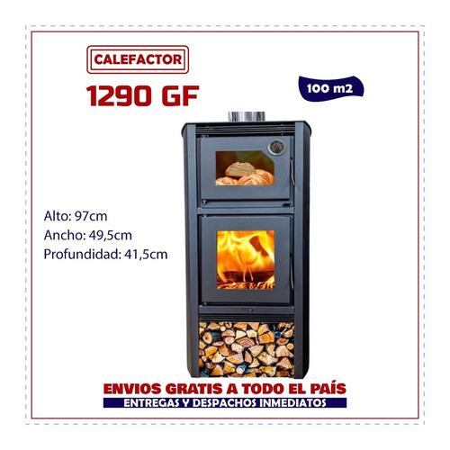 Imagen 1 de 7 de Calefactor C/horno Doble Combustión Lyon 1290gf - La Kazona