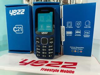 Telefono Basico Yezz C21 Doble Sim