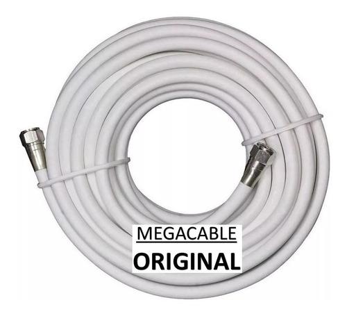 Imagen 1 de 4 de Cable Coaxial Rg6 15 Mts Alta Calidad + Conectores