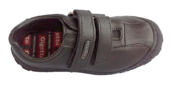 Zapato Colegial Escolar Niños Gigetto 701