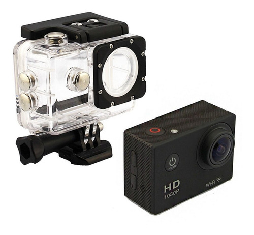 Camera Capacete A Prova D Agua Filmadora
