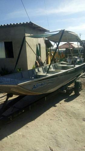 Imagem 1 de 8 de Barco Aluminio 5.50  Aluminio