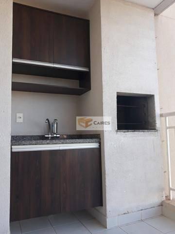 Apartamento Com 3 Dormitórios À Venda, 75 M² Por R$ 485.000,00 - Mansões Santo Antônio - Campinas/sp - Ap7466