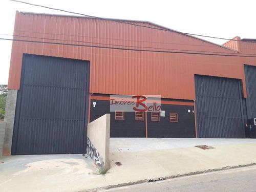 Imagem 1 de 3 de Barracão Para Alugar, 462 M² Por R$ 6.000/mês - Bairro Das Brotas - Itatiba/sp - Ba0016
