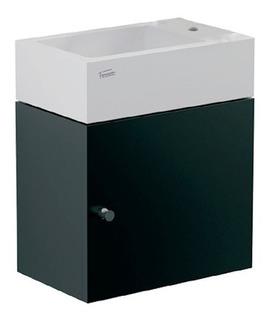 Vanitory Y Lavatorio De Colgar Yl15a/bn Toilette Neg Ferrum