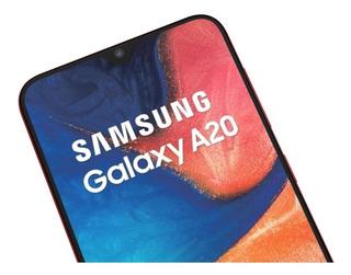 Celular Samsung Galaxy A20 Rojo [155 Americanos]