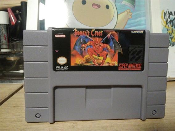 Demons Crest Snes Cartucho Super Nintendo