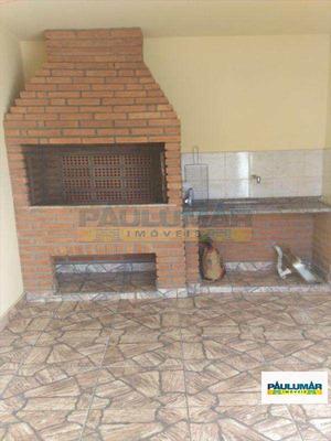 Casa Com 2 Dorms, Vila Vera Cruz, Mongaguá - R$ 260.000,00, 80m² - Codigo: 20307 - A20307