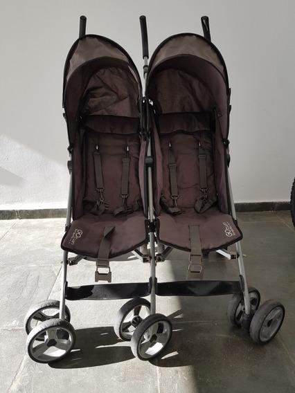 Carrinho Duplo De Bebês (gêmeos)
