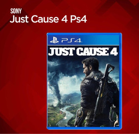 Jogo Just Cause 4 Day One Ps4 Mídia Física Pronta Entreg