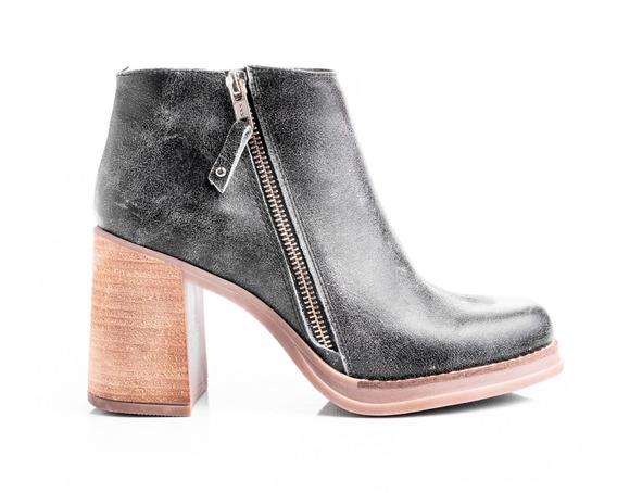 Borcegos Mujer Zapatos Botas Botitas Botinetas Cuero