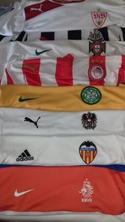7 Camisas+1 Moletom Futebol Áustria Valência Newcastle Oly..