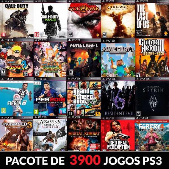 Pacote De Jogos Ps3