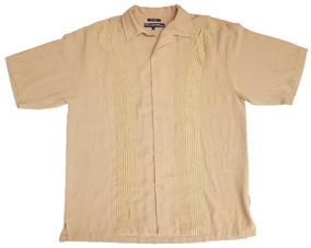 Camisa Tipo Guayabera Talla 2xlt Extra Larga Xxl