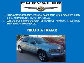 Chrysler Pacifica 3.5 Fwd Equipada Mt