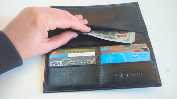 Billetera Porta Documentos Y Tarjetas Organizador