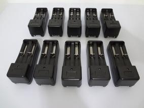 Kit 20 Carregador Duplo Bateria Lanterna 18650 3,7v E 4,2v