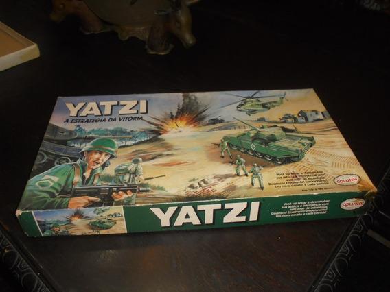 Brinquedo Antigo Jogo Yatzi Da Marca Coluna Caixa E Manual