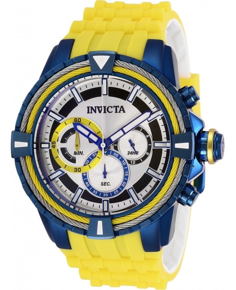 Invicta - Reloj 29081 Bolt Stainless Steel Quartz Para Hombr