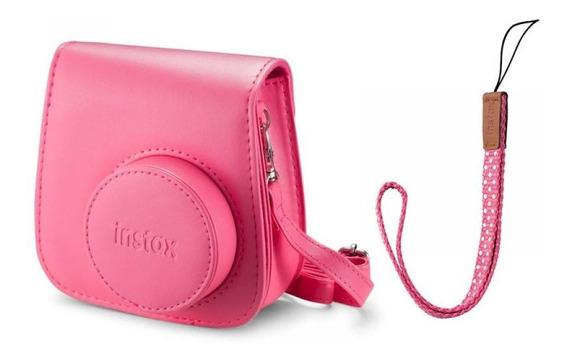 Kit Câmera Instantânea Fujifilm Instax Mini 9 Rosa Flamingo