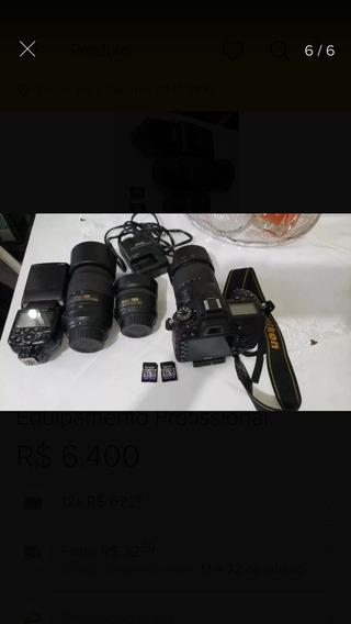 Máquina Fotográfica Equipamento Profissional