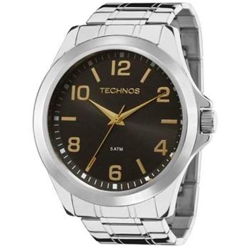 Relógio Technos Masculino Classic Steel 2035mcw/1p