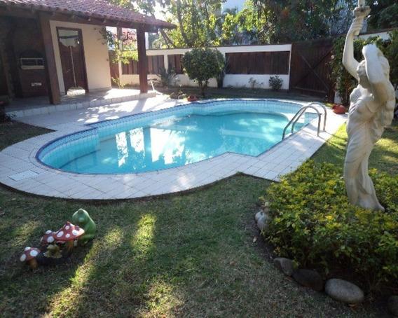 Casa Condominio Jardim Clube Da Barra, Pertinho Da Praia, 494m2 Área Construida - Ca-bt-002