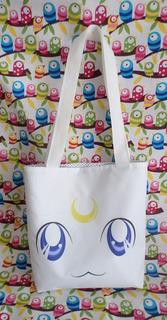 Mini Tote Bag Cartera De Anime Sailor Moon Artemis