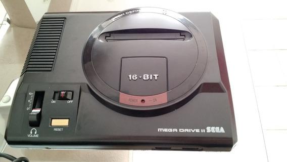 Mega Drive 2 + Six Pack + Sonic 2 + Cabo Av