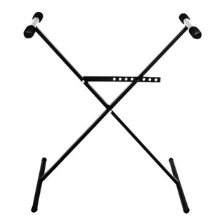 Mesa Tijera Pie Teclado Soporte Simple Negro Pro Stands