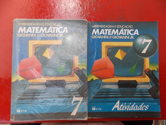 Aprendizagem E Educação Matemática 7ª+ Caderno De Atividades