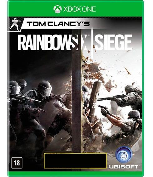 Jogo Rainbow Six Siege Xbox One Mídia Física Novo Português