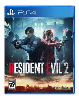 Resident Evil 2 Remake Ps4 Nuevo Sellado Idioma Español
