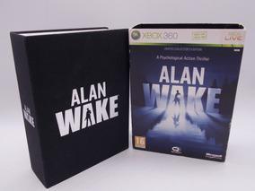 Alan Wake Limited Collectors Edition Xbox 360 E Xbox One