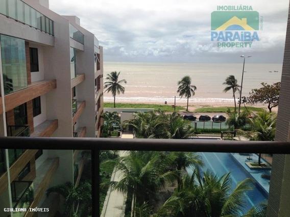 Apartamento Mobiliada Para Locação - Praia Do Cabo Branco - João Pessoa - Pb - Ap0004