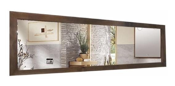 Espejo Marco Madera 1.20 Mts Living Comedor Baño Habitacion