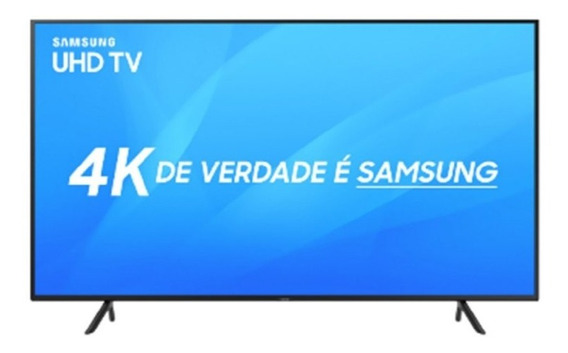 Smart Tv Samsung Led 49 Uhd 4k Un49nu7100gxzd Visual Livre