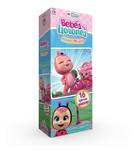 Rompecabezas Bebés Llorones  16 Pz Fotorama