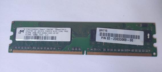 Memoria Ram 512 Pc4200 533mhz