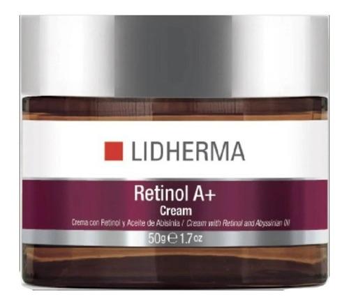 Imagen 1 de 10 de Retinol A+ Cream 50gr Renovador Celular Emoliente Lidherma