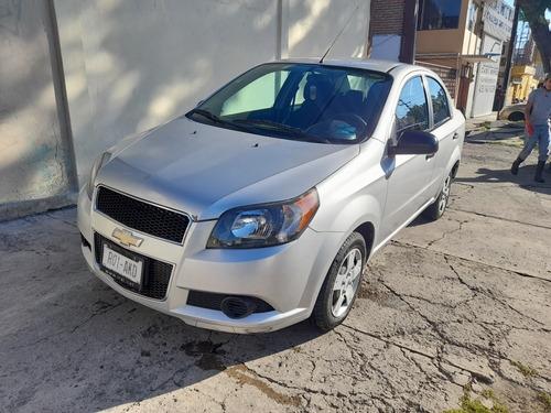 Imagen 1 de 9 de Chevrolet Aveo 2017 1.6 Ls Aa Radio Nuevo Mt