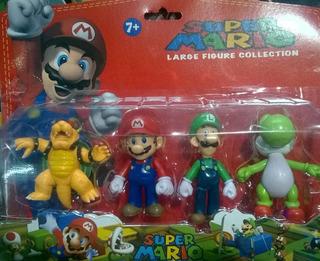 Blister Set X 4 Super Mario Bros Ideal Tortasy Despues Jugar