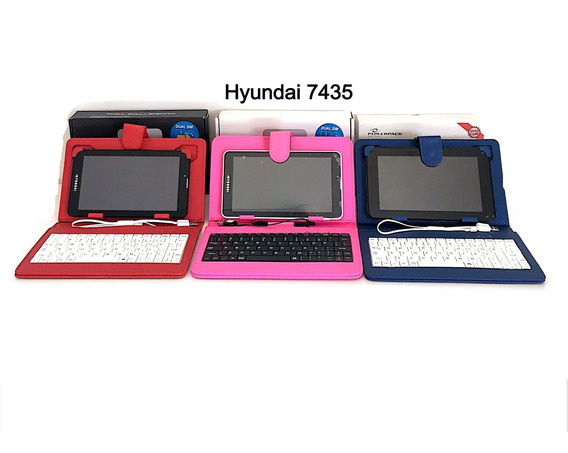 Tablet Hyundai Dual Chip 4g 8gb Hdt-7435 Branco De Vitrine
