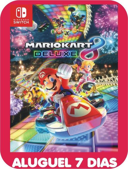 Mario Kart 8 Deluxe *locação 7 Dias*