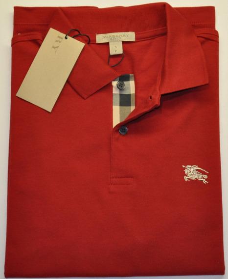 Camisa Polo Burberry Original Masculina Várias Cores