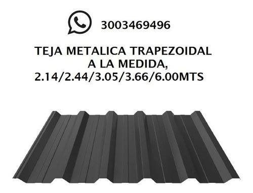 Tejas Metálicas Trapezoidales - Unidad a $25000