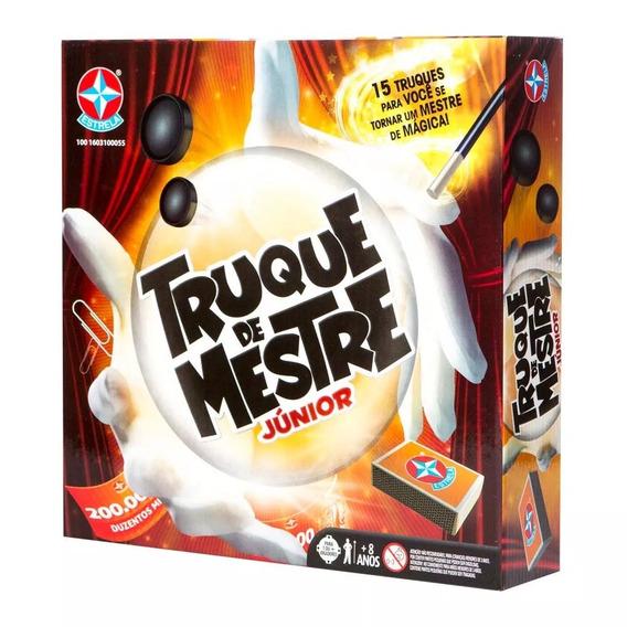 Jogo De Mágica - Truque De Mestre Junior - Estrela